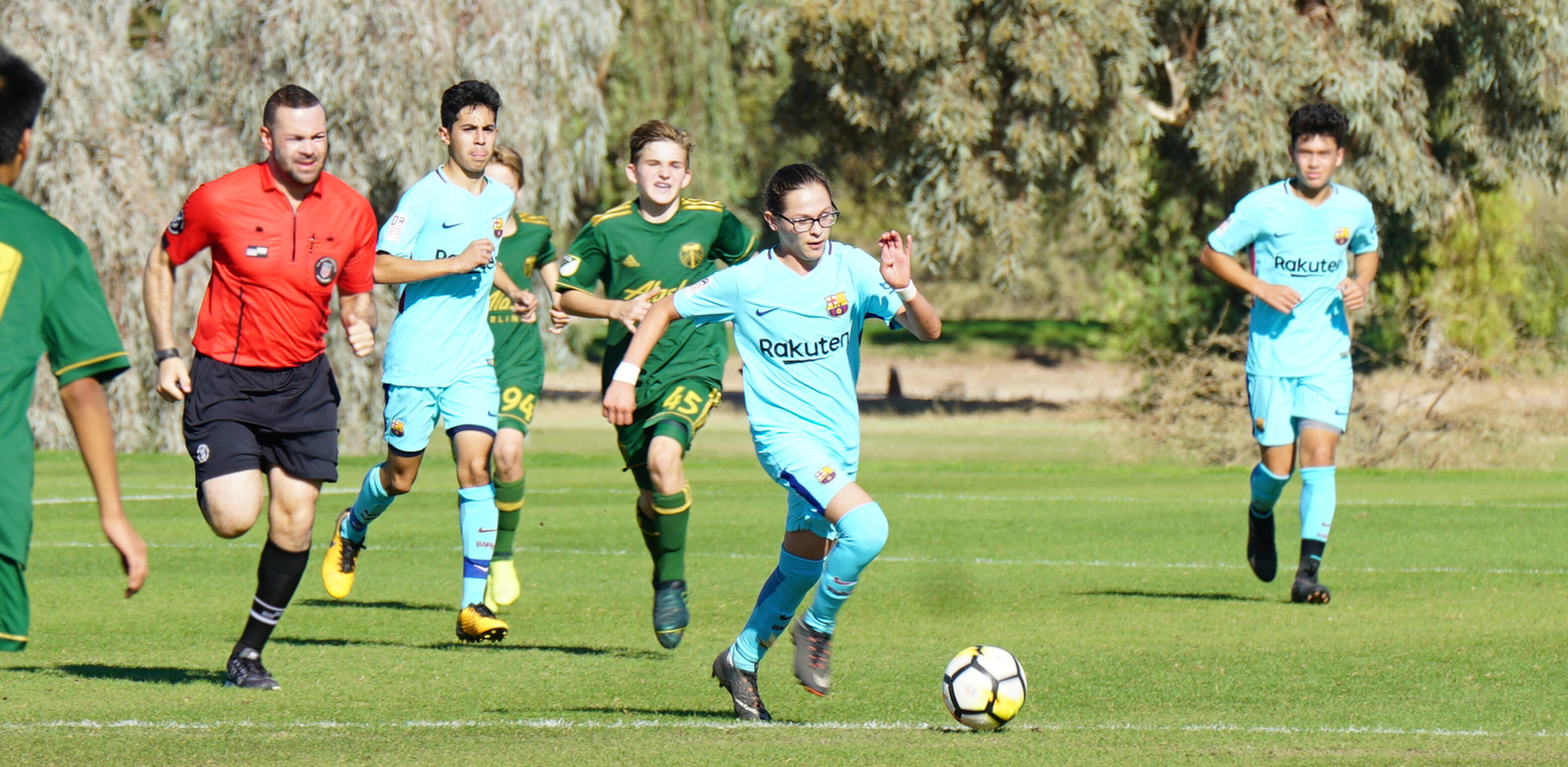 Weekend of soccer thrillers for Barca Academy