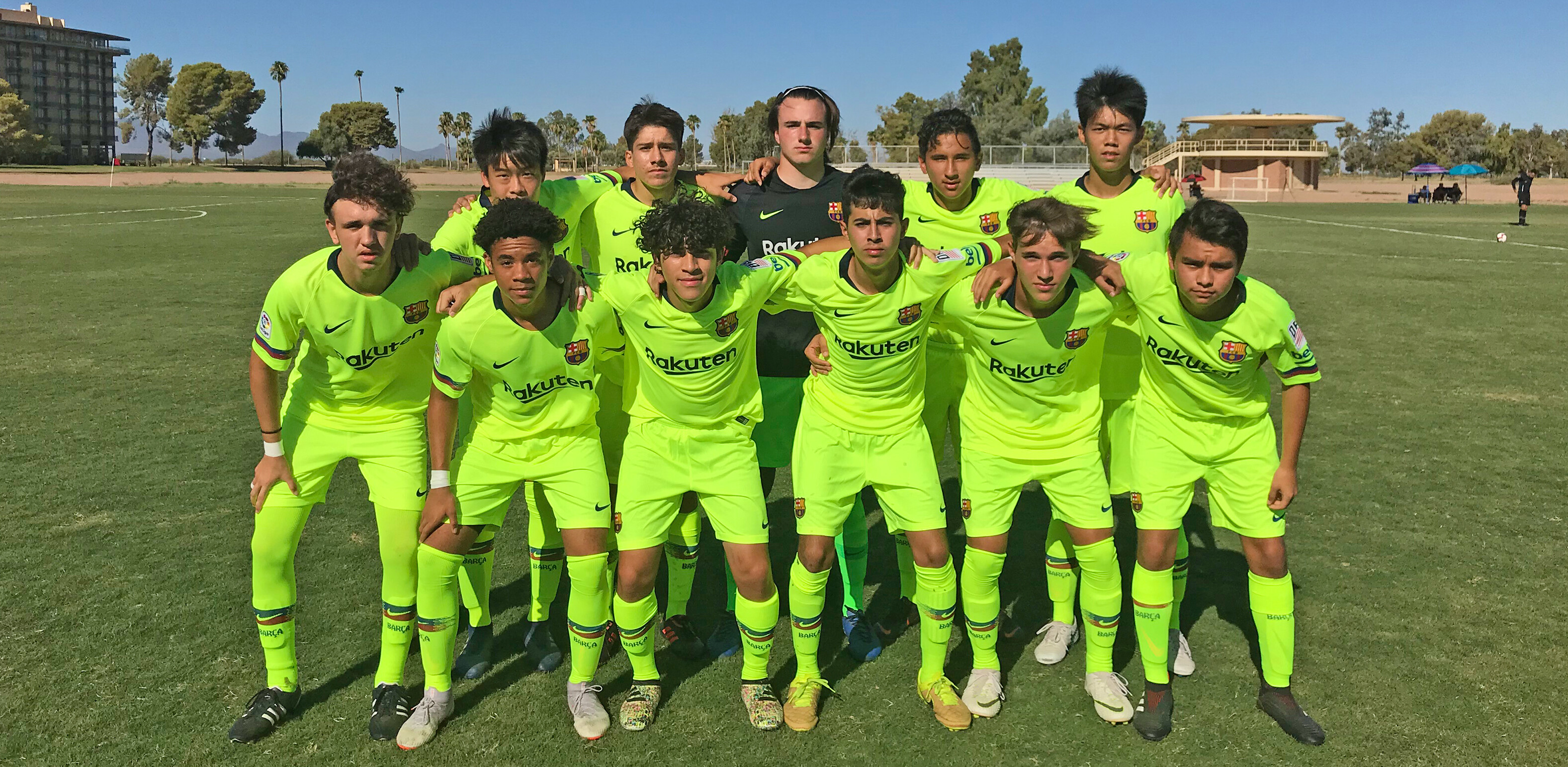 Barca Residency Academy Starting 11 vs. FC Golden State