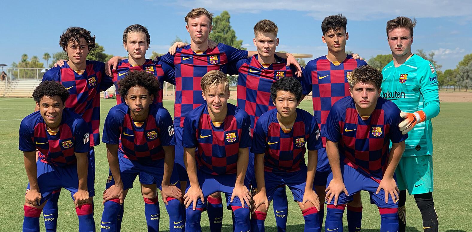 Barça Residency Academy Starting XI 9/14/19 vs. Crossfire Premier