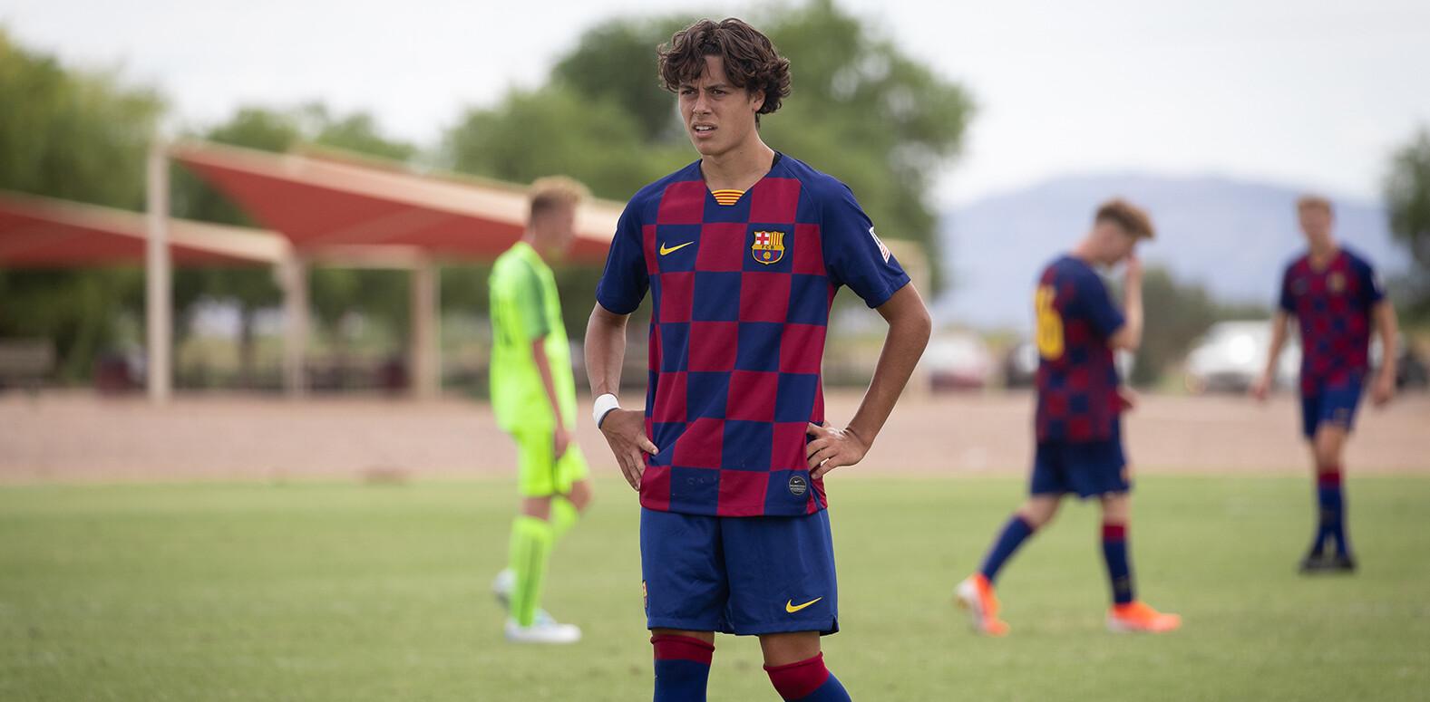 Caden Clark - Barca Residency Academy U-19 midfielder