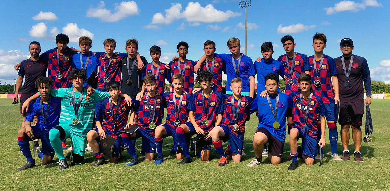 Barca Residency Academy Pre-Academy U-16s post MIC USA Tournament